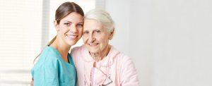 Caregiver-and-senior-woman4 senior home care dallas