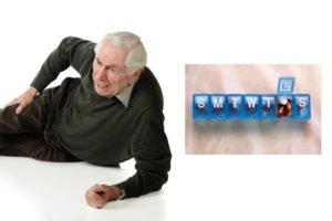 In Home caregiver medicine reminders